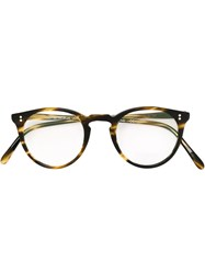 Oliver Peoples 'O'malley' Optical Glasses Brown