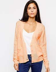 Sugarhill Boutique Mimi Cardigan Peach