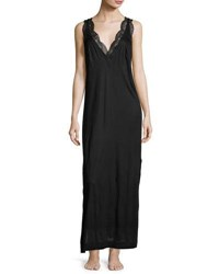 La Perla Charisma Lace Trimmed Nightgown Black