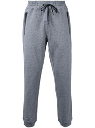 Kent And Curwen 'Terry' Knit Track Pants Grey