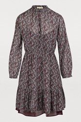 Vanessa Bruno Manuela Dress Aubergine