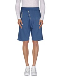 Antony Morato Trousers Bermuda Shorts Men Blue