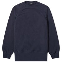 Engineered Garments Raglan Crew Sweat Blue