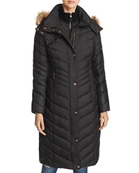 Marc New York Rachael Maxi Puffer Coat Black