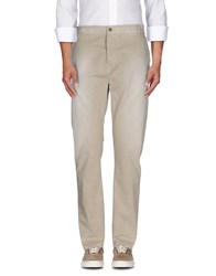 Daniele Alessandrini Homme Trousers Casual Trousers Men Beige