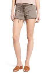 Blank Nyc Women's Blanknyc Lace Up Shorts