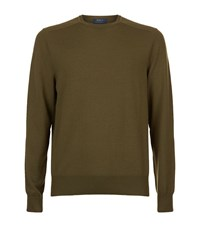 Polo Ralph Lauren Crew Neck Merino Jumper Male