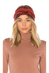 The North Face Nanny Knit Ear Band Red