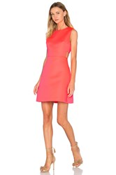 Kate Spade Cutout Flare Dress Coral