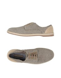Dolce And Gabbana Footwear Espadrilles Men Grey