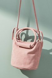 Monserat De Lucca Itzel Crossbody Bucket Bag Rose