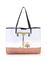 Mary Katrantzou T Melina Coated Canvas Tote