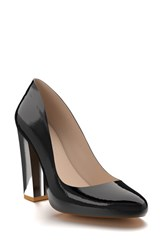 Women's Shoes Of Prey Round Toe Pump 4' Heel