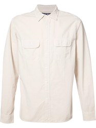 Alex Mill Front Pockets Plain Shirt Nude Neutrals