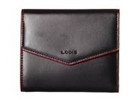 Lodis Audrey Lana French Purse Black Red Wallet Handbags