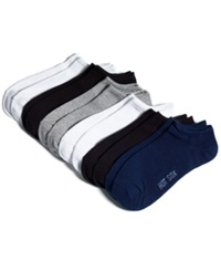 Hot Sox Women's Solid 6 Pack Socks Navy Assorted