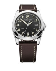 Victorinox Mens Infantry Brown Band Watch