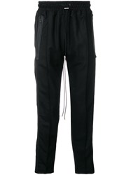 Represent Structured Tailored Trousers Black
