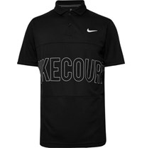 Tennis Nikecourt Dri Fit Tennis Polo Shirt Black