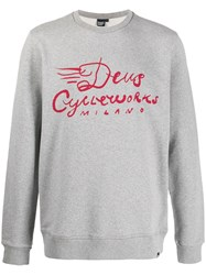 Deus Ex Machina Logo Printed Sweatshirt 60
