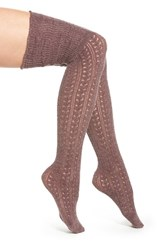 Women's Free People 'Bowery' Over The Knee Socks