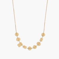 Madewell Holding Pattern Necklace Vintage Gold