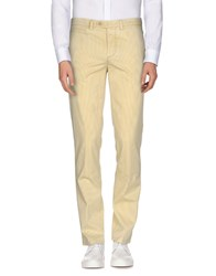 Piatto Trousers Casual Trousers Men Yellow