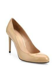 Stuart Weitzman Tune Patent Leather Pumps Nude