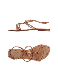Maliparmi Footwear Sandals Women Skin Color