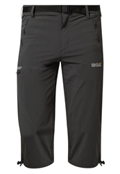 Regatta Capri 3 4 Sports Trousers Ebony Dark Gray