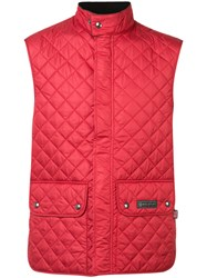 Belstaff Quilted Gilet Red