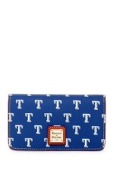 Dooney And Bourke Rangers Large Slim Phone Case Blue