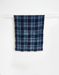 Selected Lightweight Scarf Blue