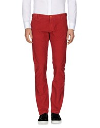 True Nyc. Casual Pants Brick Red