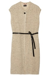 Isabel Marant Everly Woven Gilet Nude