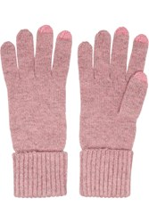 N.Peal Cashmere Cashmere Gloves Pink