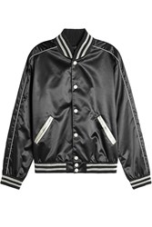 Calvin Klein Collection Satin Bomber Jacket