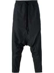 Lost And Found Drop Crotch Trousers Black