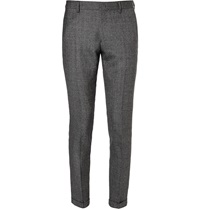 Paul Smith Slim Fit Wool Suit Trousers Gray