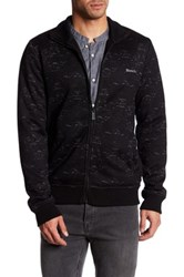 Bench Separate Full Zip Sweater Black