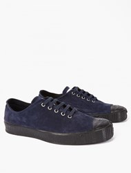 Comme Des Garcons X Spalwart Navy Suede Special Low V Sneak