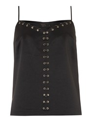 Label Lab Limited Edition Ring Detail Cami Black