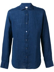 Danolis Spread Collar Shirt Blue