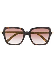 Tod's Square Frame Sunglasses 60