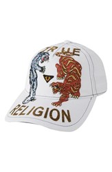 Men's True Religion Brand Jeans 'Panther Tiger' Baseball Cap