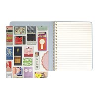 Kate Spade Matchbook Concealed Spiral Notebook