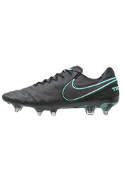 Nike Performance Tiempo Legend Vi Sgpro Football Boots Black Hyper Turquoise