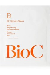 Dr. Dennis Gross Skincare Set Of 8 Bioc Brightening Treatment Mask One Size Colorless