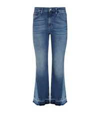 Calvin Klein Jeans Cropped Flare Female Blue