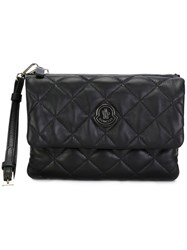 Moncler Quilted Clutch Bag Black